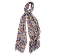 Barbour Country Floral Wrap - LSC0236WH11